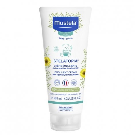 Mustela Stelatopia Crème Emolliente 200ml pas cher, discount