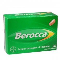 Berocca Fatigue Passagère-Irritabilité 30 Comprimés Pelliculé