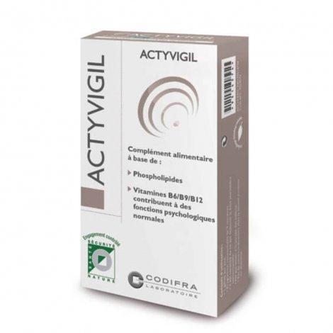 Codifra Actyvigil Mémoire et Concentration 21 gélules pas cher, discount