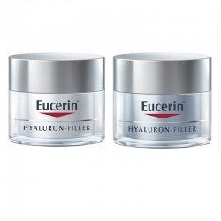 Eucerin Pack Routine Hyaluron-Filler Crème de Jour 50ml + Crème de Nuit 50ml