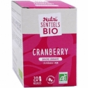 Nutrisanté Nutri'sentiels Cranberry Bio 20 gélules