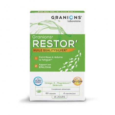 Ea Pharma Granio+ Restor 60 Capsules pas cher, discount