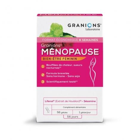 Granions Ménopause 56 gélules pas cher, discount