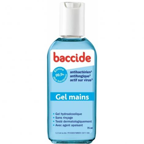 Baccide Gel Mains 75 Ml pas cher, discount