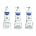Mustela LOT de 3 Gels Lavant Doux Dermo Nettoyant 500 ml