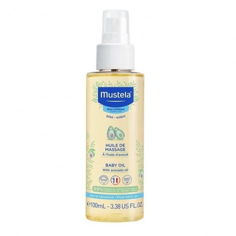 Mustela Peau Normale Huile de Massage 100ml pas cher, discount