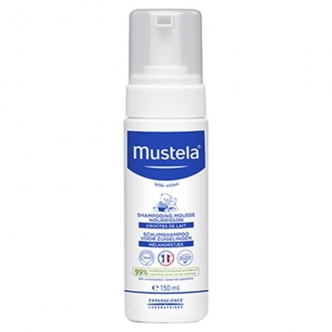 Mustela Shampooing Mousse Nourrisson Flacon 150 Ml pas cher, discount