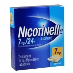 Nicotinell 7 mg/24h 7 Patchs
