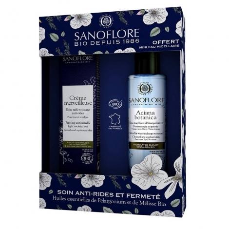 Sanoflore Coffret Crème Légère Merveilleuse 40ml + Eau Micellaire Aciana Botanica 50ml pas cher, discount