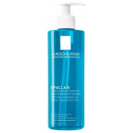 La Roche-Posay Effaclar Gel Moussant Purifiant 400ml pas cher, discount