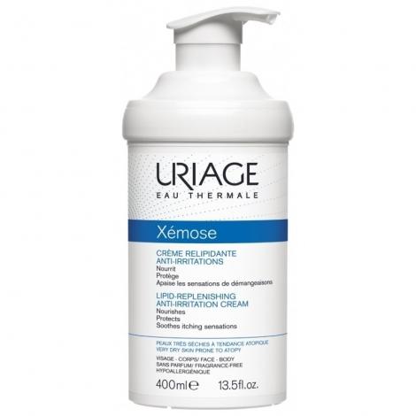 Uriage Xémose Crème Relipidante Anti-Irritations 400ml pas cher, discount