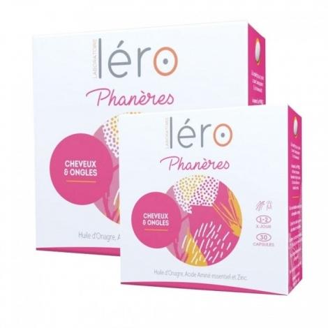 Lero Phanères Cheveux et Ongles 90 Capsules + 30 offertes pas cher, discount