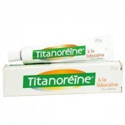 Titanoréine Lidocaïne 2% crème 20g