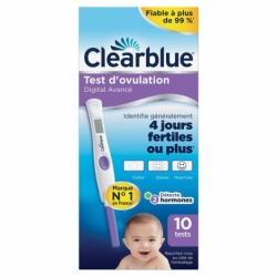 Clearblue Test d'Ovulation Digital Avancé 10 tests