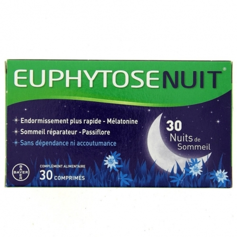 Euphytose Nuit 30 Comprimés pas cher, discount