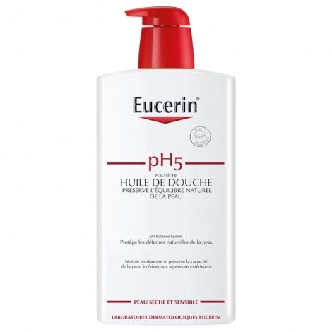 Eucerin pH5 Huile de Douche Peau Sèche & Sensible 1000ml pas cher, discount