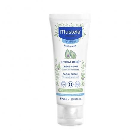 Mustela Peau Normale Hydra Bébé Crème Visage 40ml pas cher, discount
