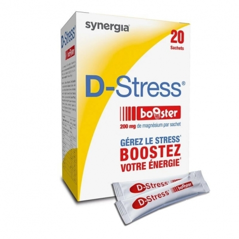 Synergia D-Stress Booster 20 sachets pas cher, discount