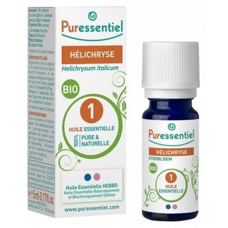 Puressentiel Immortelle Hélichryse Extra Huile Essentielle 5 ml pas cher, discount