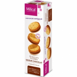 Milical 12 Biscuits Saveur Chocolat