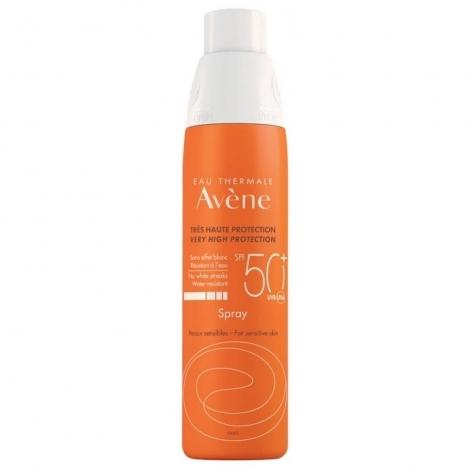 Avène Solaire Spray Très Haute Protection SPF50+ 200ml pas cher, discount