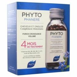 Phyto Phytophanère Cheveux et Ongles 4 Mois de Traitement 2 x 120 capsules