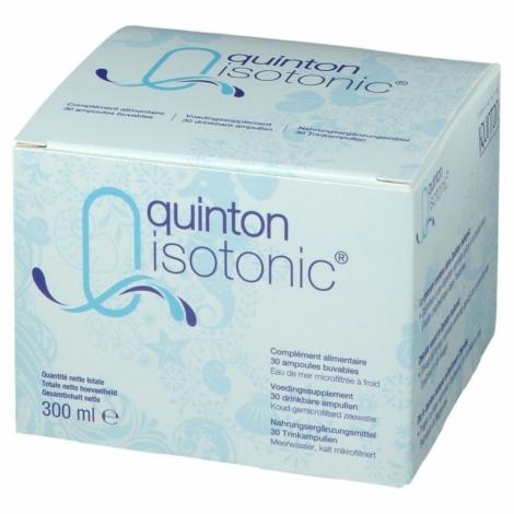 Quinton Isotonic 30 ampoules buvables pas cher, discount