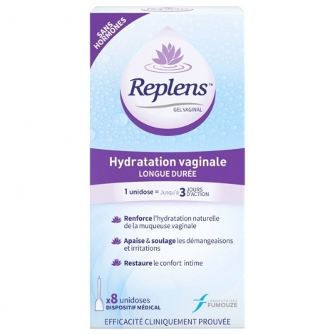 Replens Gel Vaginal 8 unidoses pas cher, discount