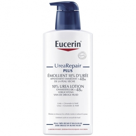 Eucerin UreaRepair Plus Émollient 10% d'Urée 400ml pas cher, discount