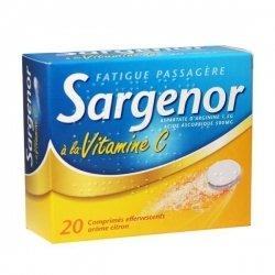Sargenor à la Vitamine C 20 Comprimés effervescents