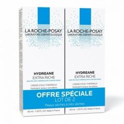 La Roche-Posay Hydreane Extra Riche 2 x 40ml