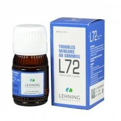 Lehning L72 Troubles Mineurs du Sommeil 30 ml