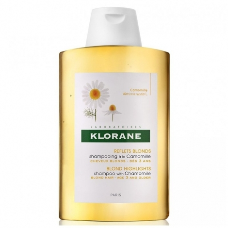 Klorane Capillaire Shampooing Camomille 400ml pas cher, discount
