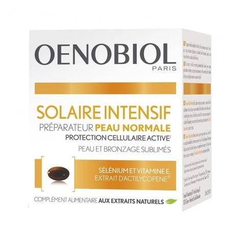 Oenobiol Solaire Intensif Préparateur Peau Normale 30 Capsules pas cher, discount