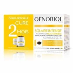 Oenobiol Solaire Intensif Préparateur Peau Sensible/ Peau claire 2x30 Capsules