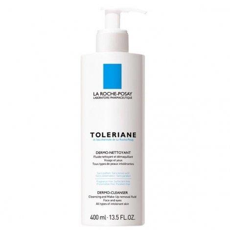 La Roche-Posay Toleriane Fluide Dermo-Nettoyant 400 ml pas cher, discount