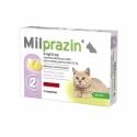 Milprazin Antiparasitaire Petits Chats 2 comprimés sécables