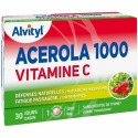 Alvityl Acérola 1000 Vitamine C Défenses Naturelles 30 comprimés