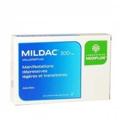 Mildac 300 mg Manifestations Dépressives Légères 40 Comprimés
