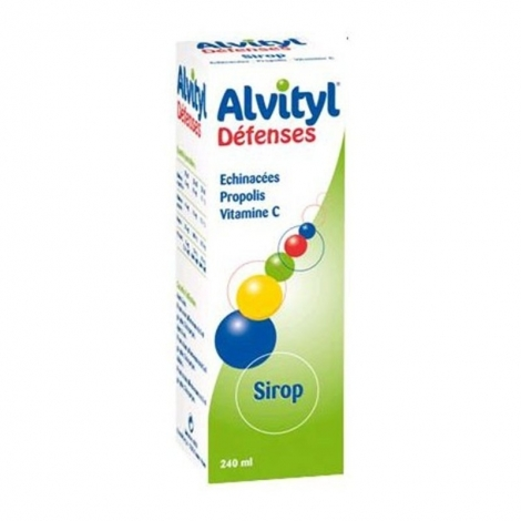 Alvityl Défenses Naturelles Sirop 240 ml pas cher, discount