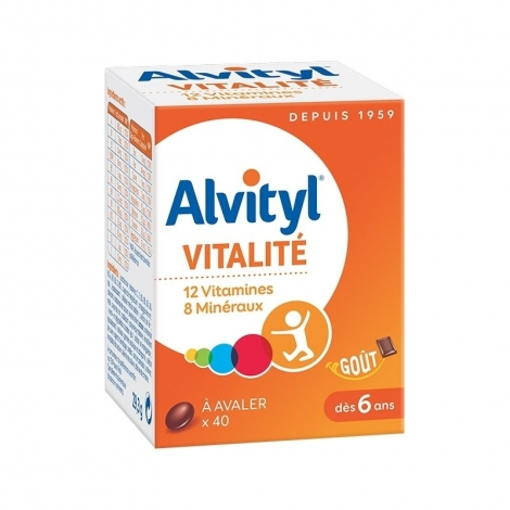 Alvityl Forme Equilibre Vitalité x40 comprimés pas cher, discount