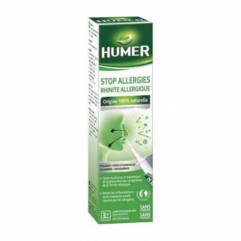 Humer Stop Allergies Spray 20ml pas cher, discount