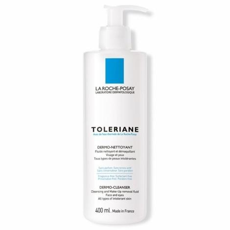 La Roche-Posay Toleriane Fluide Dermo-Nettoyant 400ml pas cher, discount