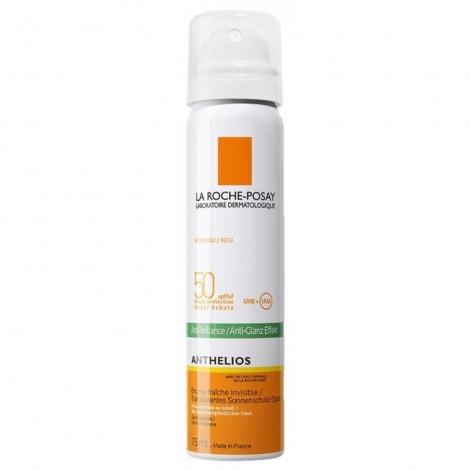 La Roche-Posay Anthelios Anti-Brillance Brume Fraîche Invisible SPF 50 75ml pas cher, discount