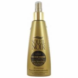Soleil Noir Spray Huile Sèche Vitaminée Ultra Bronzante sans Filtre 150ml