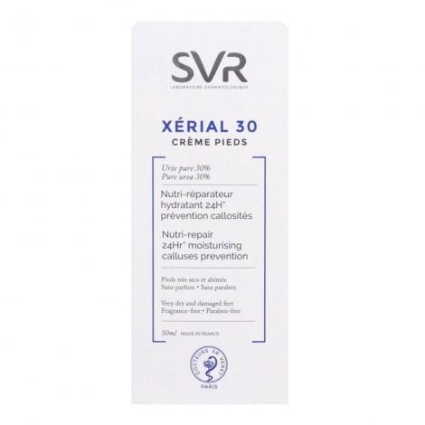 SVR Xérial 30 Crème Pieds Très Secs et Abîmés 50 ml pas cher, discount