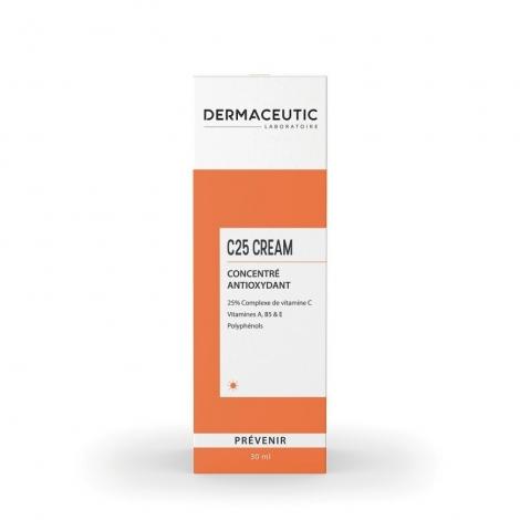 Dermaceutic C25 Cream Concentré Antioxydant 30ml pas cher, discount