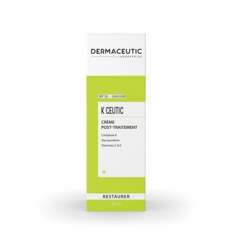 Dermaceutic K Ceutic Crème Post-Traitement SPF 50 30ml pas cher, discount