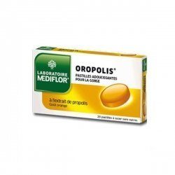 Oropolis Sans Sucre Goût Orange 20 Pastilles à sucer pas cher, discount