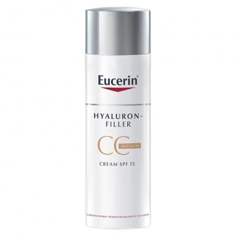 Eucerin Hyaluron-Filler CC Crème Medium SPF15 50ml pas cher, discount